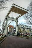 Stary drewniany holendera most Obraz Royalty Free