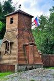 Stary drewniany młyn Fotografia Stock