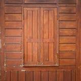 Drewniany okno Obraz Royalty Free