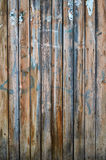 Stary drewniany ogrodzenie. Fotografia Royalty Free