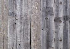 Stary drewniany ogrodzenie Obrazy Royalty Free