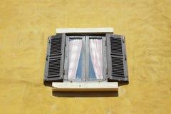 Stary drewniany okno fotografia royalty free