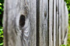 Stary drewniany płotowy rozciąganie zdjęcia royalty free