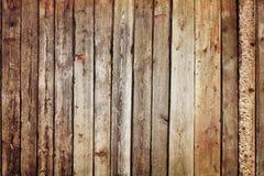 Stary drewniany panel Obraz Royalty Free