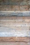 Stary drewniany panelu tło Zdjęcia Stock