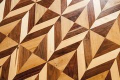 Stary drewniany parkietowy posadzkowy projekt Obrazy Stock
