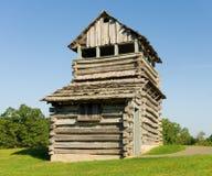 Stary drewniany pożarniczy wierza w appalachians zdjęcia stock