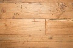 Stary drewniany podłogowy tekstury tło Zdjęcie Stock