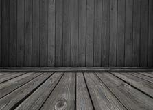 Stary drewniany pokój, rocznika tło Zdjęcie Royalty Free
