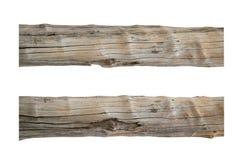 Stary Drewniany słupa przedmiota 2 styl odizolowywa na białym tle Obraz Stock