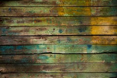 Stary drewniany tło Zdjęcie Royalty Free