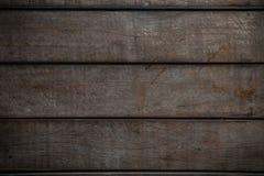 Stary drewniany tło od starego domu, korodowanie, korodowanie drewniany tło i pusty teren, baza lub sufit w wnętrzu dom, Obrazy Stock