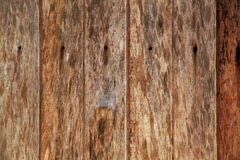 Stary drewniany tło Fotografia Royalty Free