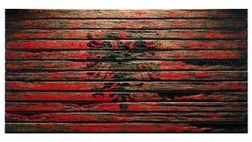 Stary drewniany tekstury tła apocalypse ilustracji