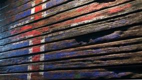 Stary drewniany tekstury tła apocalypse royalty ilustracja