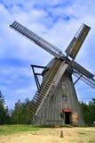 Stary drewniany wiatraczek Obrazy Stock