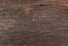 Stary drewno pękająca tekstura Fotografia Royalty Free
