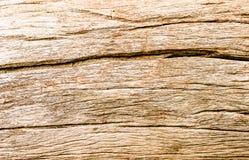 Stary drewno pęknięcia Obraz Royalty Free