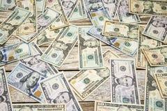 Stary drewno wietrzejący deska papierowego pieniądze tło Zdjęcia Stock