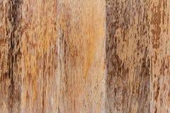 Stary drewno z brown farbą Zdjęcia Stock