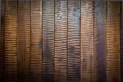 Stary drewno zaszaluje tło Obrazy Stock