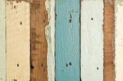 Stary drewno zaszaluje teksturę Zdjęcie Stock