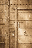 Stary drzwi obraz stock