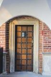 Stary drzwi Zdjęcie Royalty Free