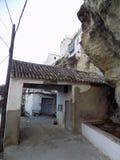 Stary drzwi de Granada Zdjęcie Stock