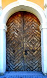 stary drzwi przyciąganie fotografia stock