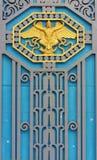Stary drzwi rówieśnik, piękny i silny Fotografia Stock