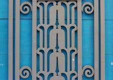 Stary drzwi rówieśnik, piękny i silny Obrazy Royalty Free