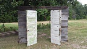 stary drzwi rocznik Fotografia Stock