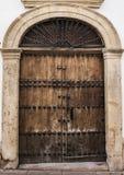 Stary drzwi Ronda2 fotografia royalty free