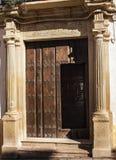 Stary drzwi Ronda6 fotografia royalty free