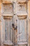 Stary drzwi w Bukhara, Uzbekistan Zdjęcie Royalty Free