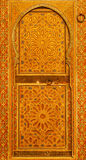 Stary drzwi w muzeum Marrakesh Fotografia Stock