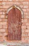 Stary drzwi w Ryskim, Latvia Obraz Royalty Free