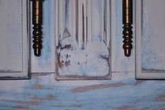 Stary drzwiowego zawiasu szczegół Zdjęcie Stock
