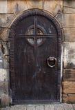 stary drzwiowy metal zdjęcie stock