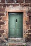 Stary drzwiowy Szkocja Obraz Royalty Free