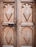 Stary drzwiowy tło, Oxford Fotografia Stock