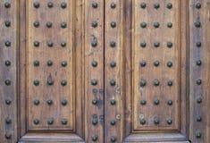 Stary drzwiowy tekstura wzór Obraz Stock