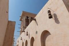 stary Dubai miasteczko obrazy royalty free