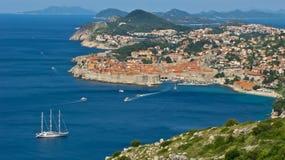 stary Dubrovnik miasteczko Obraz Royalty Free