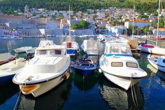 stary Dubrovnik port zdjęcie stock