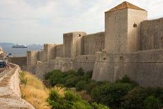 stary Dubrovnik schronienie Zdjęcie Royalty Free