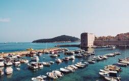 stary Dubrovnik schronienie zdjęcia royalty free