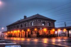 Stary dworzec w Lansdale, Pennsylwania Zdjęcie Royalty Free