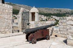 Stary dzia?o w Dubrovnik obraz royalty free
